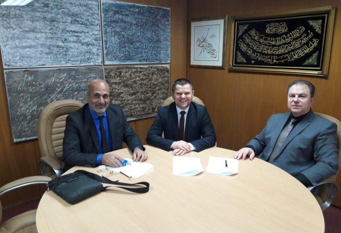 Potpisan sporazum o sufinansiranju projekta adaptacije amfiteatra u zgradi muškog odjeljenja Gazi Husrev-begove medrese