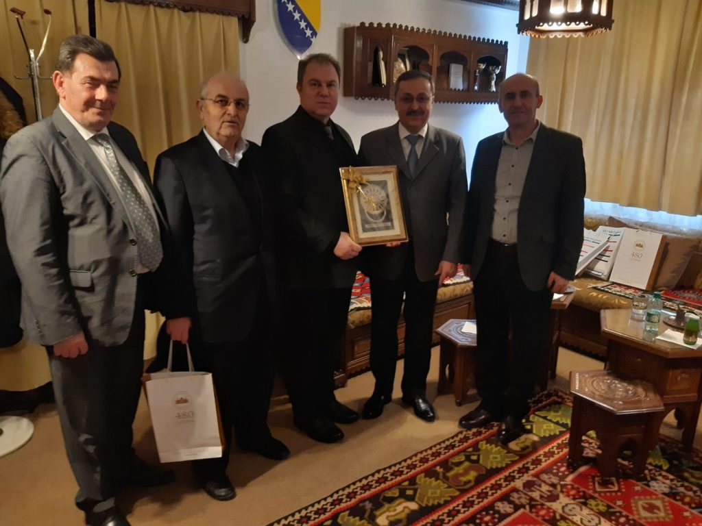 Direktor Gazi Husrev-begove medrese primio Rektora Internacionalnog univerziteta u Sarajevu
