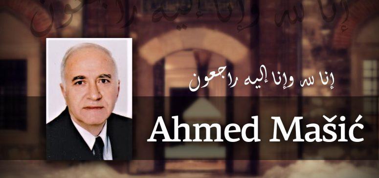 Na Ahiret preselio Ahmed-ef. Mašić, dugogodišnji odgajatelj u Gazi Husrev-begovoj medresi
