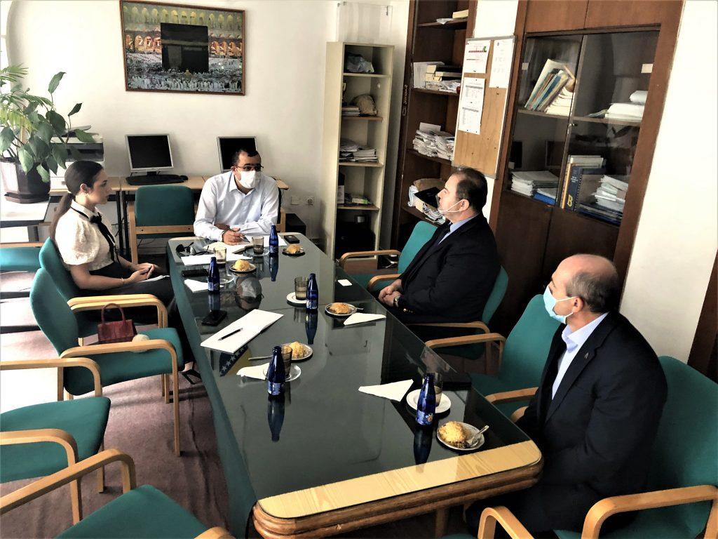 Koordinator TIKA-e za Bosnu i Hercegovinu gospodin Muhamed Unal posjetio Gazi Husrev-begovu medresu
