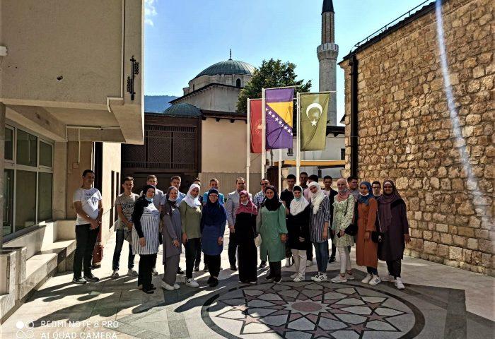 """Učenici Medrese """"Reis Ibrahim-ef. Maglajlić"""" posjetili Gazi Husrev-begovu medresu"""