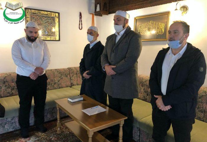 Škobalj Ismail, svršenik Gazi Husrev-begove medrese, položio hifz