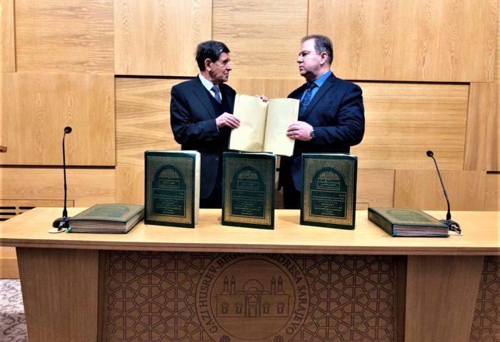 Gazi Husrev-begovoj medresi poklonjeni Kur'ani na brajevom pismu