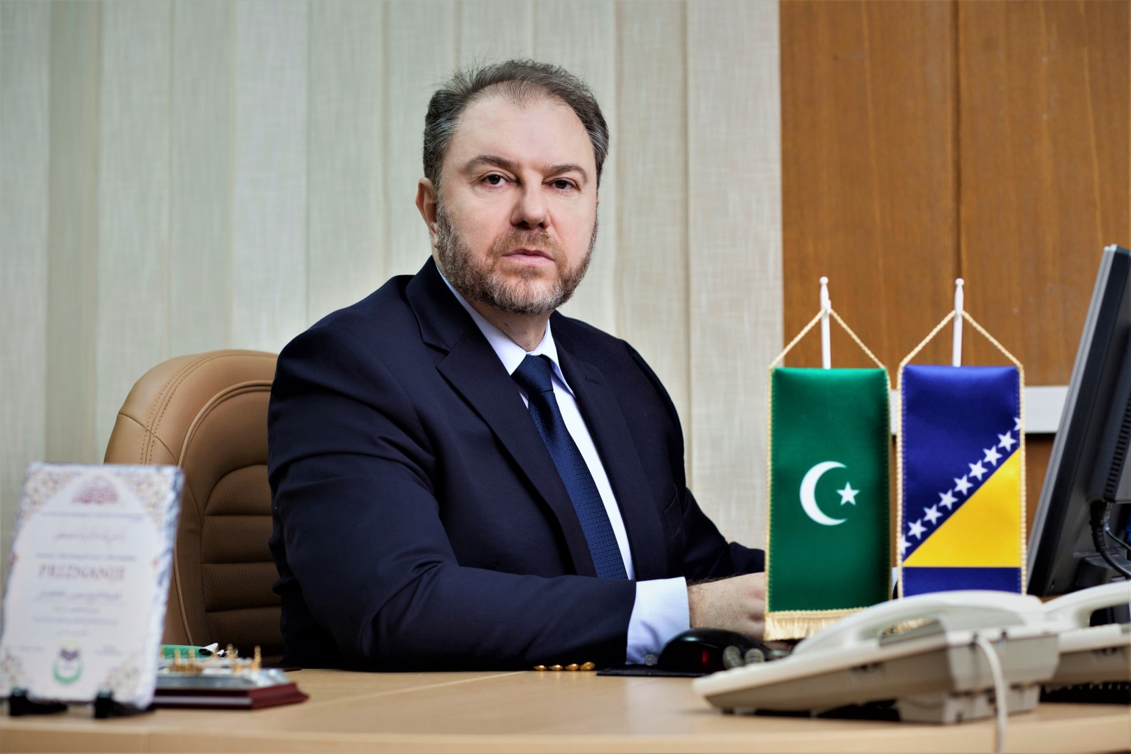 doc. dr. hfz. Mensur-ef. Malkić, direktor JU Gazi Husrev-begove medrese u Sarajevu