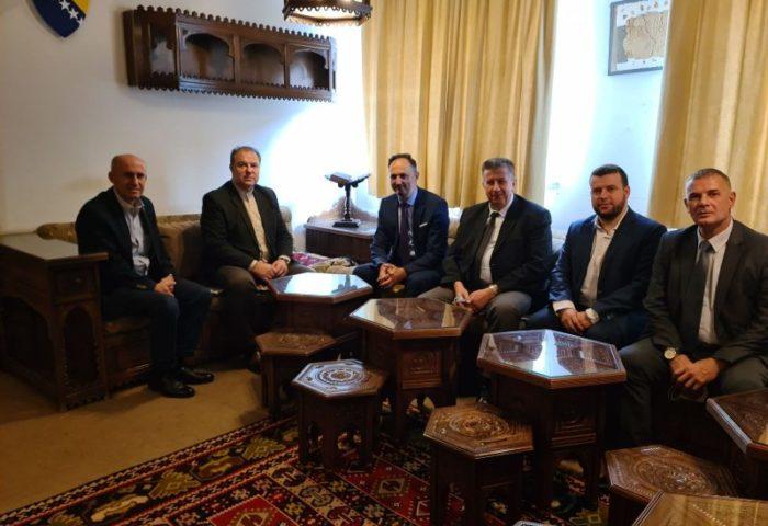 Medresu posjetio glavni imam Medžlisa IZ Sarajevo dr. Abdulgafar-ef. Velić