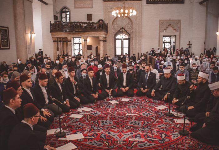 Hor Gazi Husrev-begove medrese na mevludu u Begovoj džamiji